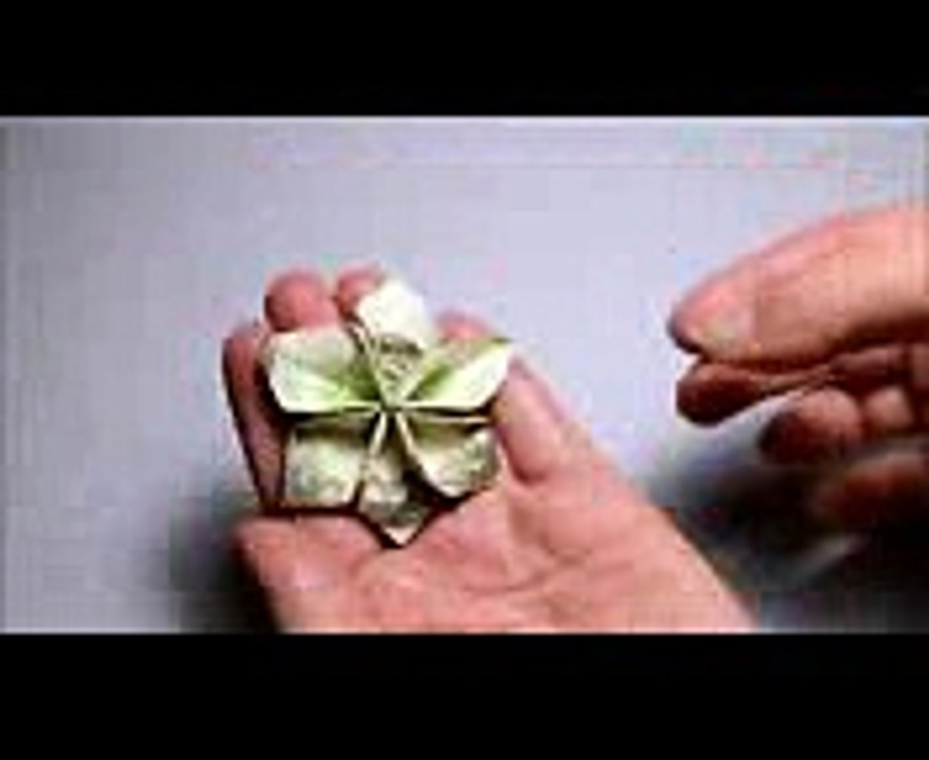Quick Money Flower Dollar Origami Diy Lei Tutorial Video Dailymotion