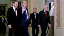 Senate votes to begin debate on GOP tax bill