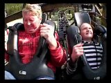 Dad Vomits On Roller Coaster