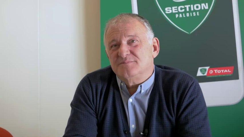 """Bernard Pontneau : """"Sans le stade, rien n'est possible"""""""