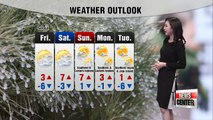 Colder weather expected tomorrow with stinging wind _ 113017