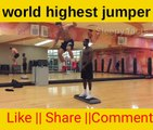 How amazing jumpers they are World highest jumpers