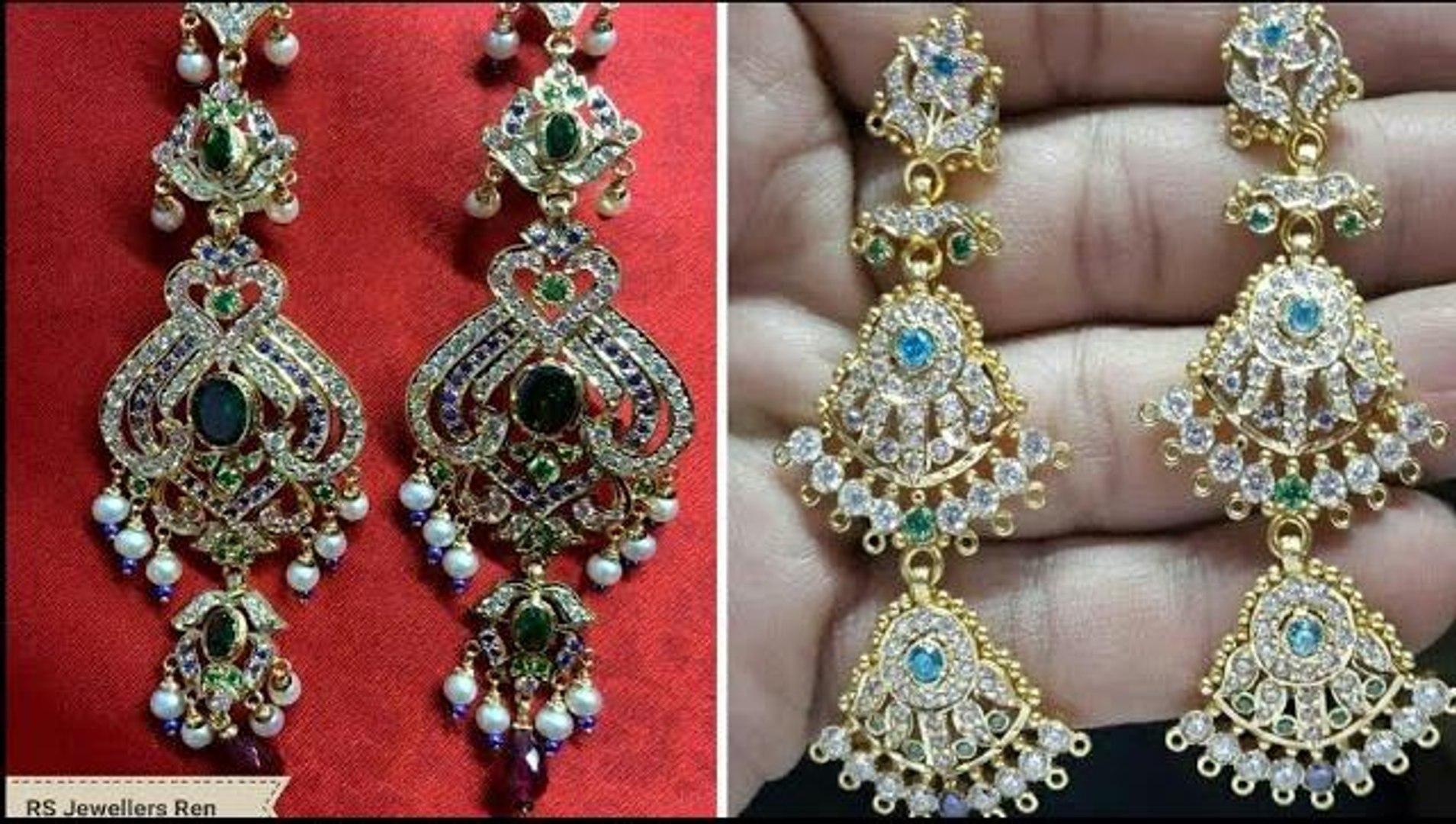 New Rajputi Earrings Design Gold Earrings Design Earrings