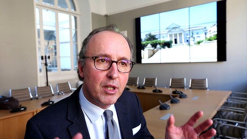 Cour d'appel de Pau : Antoine Paulian, le bâtonnier du barreau de Pau, explique la grève des avocats