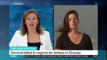 Regime air strikes kill 19 in Syria's Eastern Ghouta