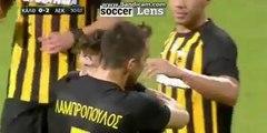 Christos Giousis Goal HD - Kallithea 0-2 AEK Athens FC 30.11.2017