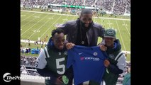 Ashley Cole And Michael Essien Watch American Football In Person For First Time