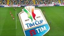 8-3 Jakub Jankto Goal Italy  Coppa Italia  Round 4 - 30.11.2017 Udinese Calcio 8-3 Perugia Calcio