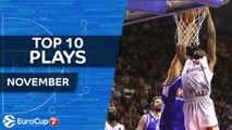 7DAYS EuroCup, Top 10 Plays, November