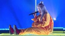 Billie Eilish - Ocean Eyes (Apple Music Up Next)-t4DVl8NYplw