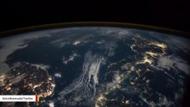 Lightning Strikes On Earth Captured From International Space Station