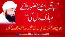 Batain Suniye HUZOOR K Mubarik Dil Ki (Muhammad Raza SaQib Mustafai)