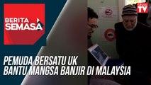 Pemuda Bersatu UK bantu mangsa banjir di Malaysia