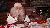 Les meilleurs des messages du Père Noël en Laponie aux enfants - Message vidéo Papa Noël en Finlande - YouTube (360p)