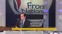 """Marine Le Pen """"ne souhaite pas"""" mener la liste FN aux européennes, selon Nicolas Bay"""