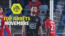 Top arrêts Ligue 1 Conforama - Novembre (saison 2017/2018)