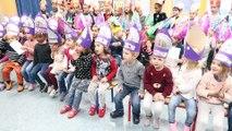 Saint Nicolas fait la tournée des écoles de Remiremont