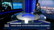DAILY DOSE   Actor Steven Seagal speaks to i24NEWS    Friday, December 1st 2017