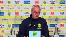 Claudio Ranieri avant ASSE-FCN