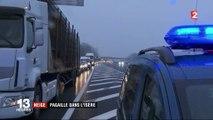 Neige : pagaille dans l'Isère