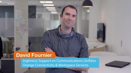 Interview David Fournier, ingénieur support chez Orange