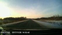 Même au milieu de nulle part, on se fait de grosses frayeurs sur la route en Russie