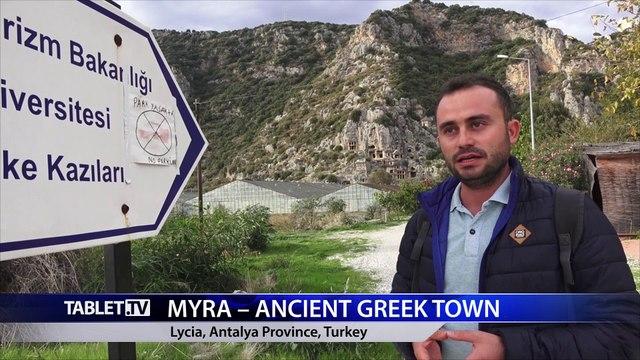 =newsnow= Myra-Ancient Greek Town - Turkey
