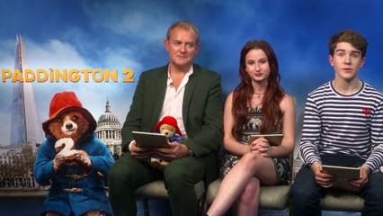 Watch The Paddington 2 Cast Play Paddington Run