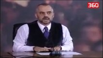 Çfarë thoshte Rama në 2010 për përmbytjet: Nuk vjen nga zoti, por nga qeveria (360video)