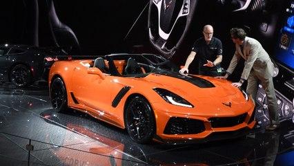 Chevrolet Finally Unveiled the Corvette ZR1