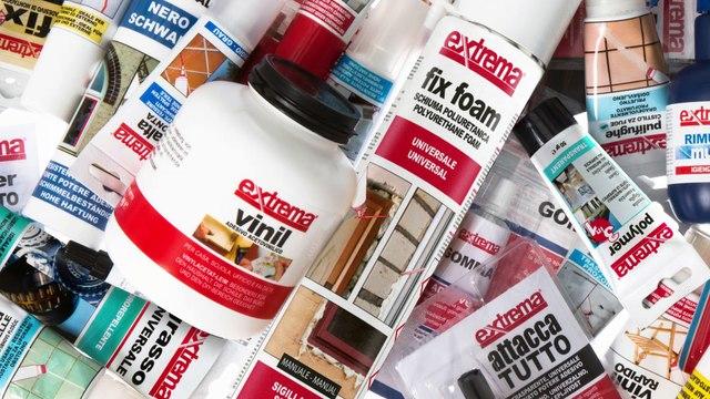 EXTREMA: professional adhesives and sealants and DIY