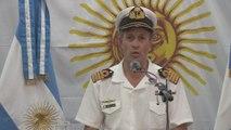 """Armada argentina analiza cuatro """"contactos"""" registrados para saber si es el submarino"""