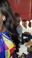 Après le concert de Bercy, Youssou Ndour est passé voir Dame Dieng (Leral) qui baptisait son fils à Paris.