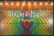 Bangles Walk Like An Egyptian Karaoke Version