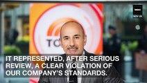 Denied! Matt Lauer Will NOT Receive Payout From NBC After Bombshell Firing