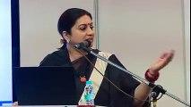KTR ను పొగడ్తలతో ముంచెత్తి అభినందించిన కేంద్ర మంత్రి స్మృతి ఇరానీ KTR Praised By Smirtthi Irani