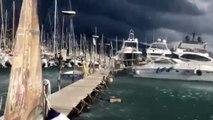 L'italie touchée par un tornade impressionnante - Trombe marine incroyable