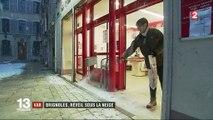 Var : Brignoles s'est réveillé sous la neige