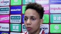 "GC Tokyo 2017 - Amandine Buchard : ""Trop fatiguée pour stresser"""