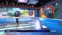 Sécurité routière : la vitesse bientôt limitée à 80 au lieu de 90 km/h ?