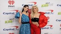 "Sofia Carson and Bebe Rexha ""KIIS FM's Jingle Ball"" Red Carpet"