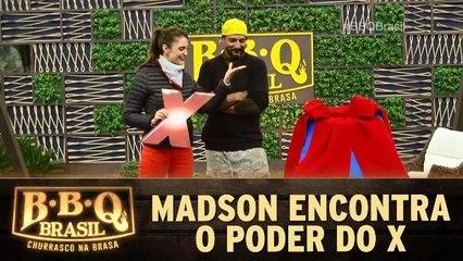 Madson encontra o poder do X e ganha prêmios
