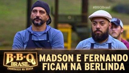 Eliminação: Madson e Fernando na berlinda