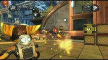 Ratchet and Clank Future Tools of Destruction gameplay (Playstation 3)