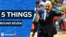 7DAYS EuroCup, Regular Season Round 7: 5 Things to Know