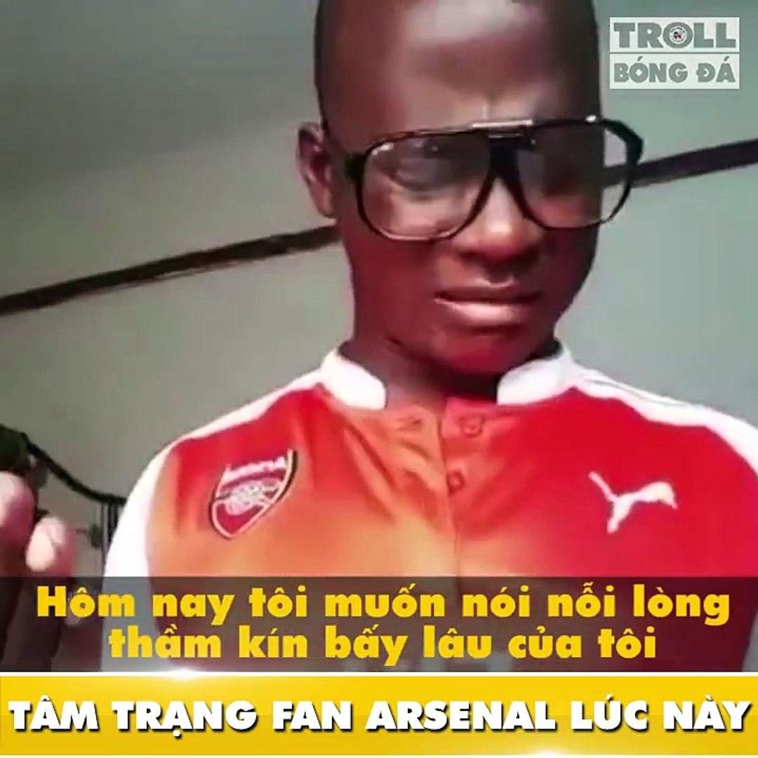 Troll Bóng Đá - Tag fan Arsenal vào an ủi nào ♥