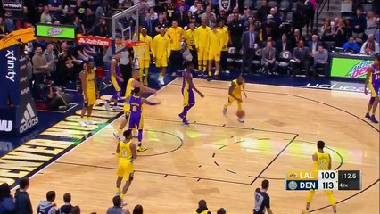 Jamal Murray Teases Lonzo Ball at the End of the Game
