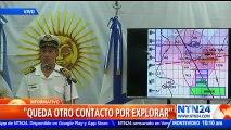 Armada argentina explora tres indicios para determinar si alguno corresponde al submarino ARA San Juan