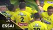 TOP 14 - Essai Benjamin KAYSER (ASM) - Clermont - Agen - J12 - Saison 2017/2018