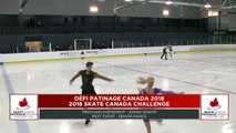 Senior Free Dance / Danse sur glace : #Challenge18 #Défi18